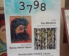 Izložba Vere Mihajlović i gost izložbe Nataše Aleksić Ugussi